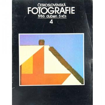 Журнал ČESKOSLOVENSKÁ FOTOGRAFIE (04/1986)