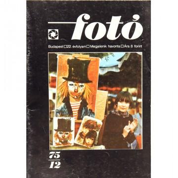 Журнал Foto (12/1975)