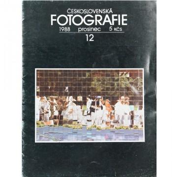 Журнал ČESKOSLOVENSKÁ FOTOGRAFIE (12/1988)