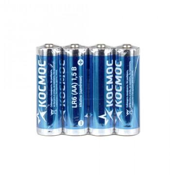 Батарейка AA (4шт) Космос