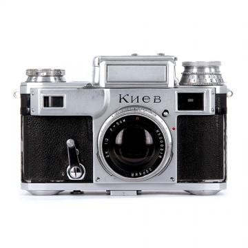 КИЕВ-3 + Зоркий ЗК 50mm/2,0