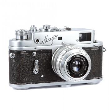 МИР + Индустар-50 50mm/3,5