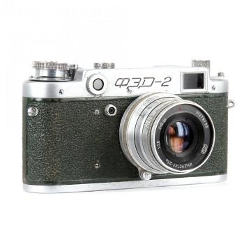 ФЭД-2 зеленый + Индустар-26М
