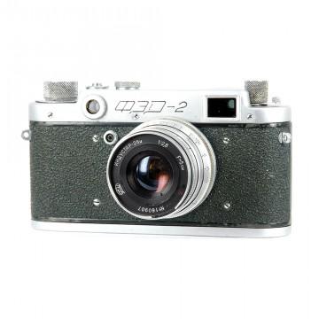 ФЭД-2 зеленый + Индустар-26М 50mm/2,8