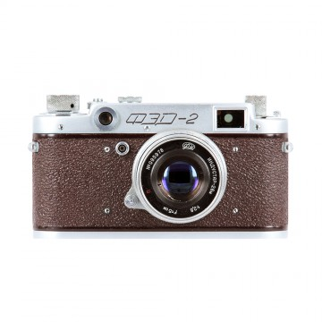 ФЭД-2 коричневый + Индустар-26М 50mm/2,8