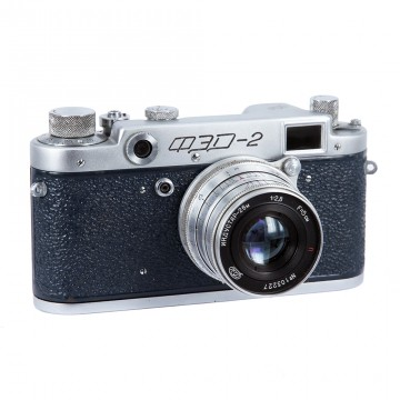 ФЭД-2 синий + Индустар-26М 52mm/2,8