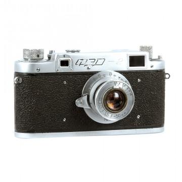 ФЭД-2 (редкий) + ФЭД 50mm/3,5