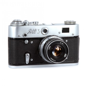 ФЭД-3 + Индустар-61Л/Д 53mm/2,8