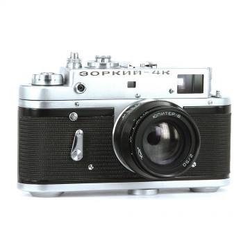 ЗОРКИЙ-4К + Юпитер-8 50mm/2,0