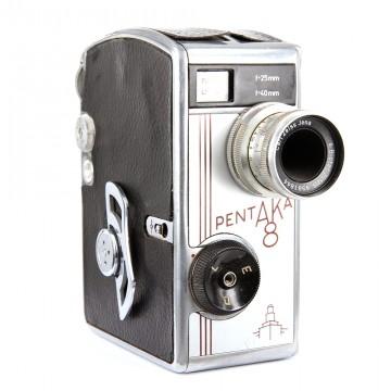 Кинокамера Pentaka 8 + Carl Zeiss Jena 12,5mm/2,0