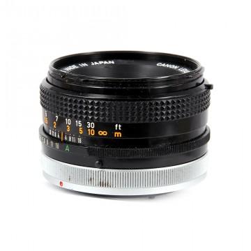 Canon FD 50mm/1.8 (Canon FD)