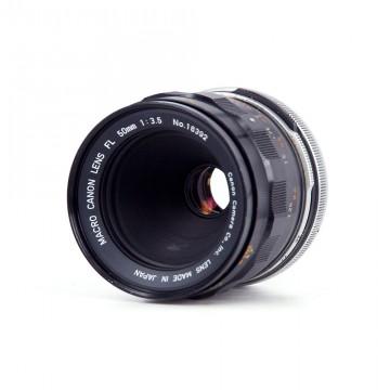 Canon Macro lens FL 50mm/3.5 (Canon FL)