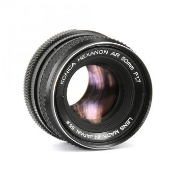 Konica Hexanon 50mm/1.7 (Konica AR)