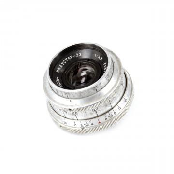 Индустар-22 50mm/3,5 (M39)