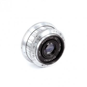 Индустар-50 (белый) 50mm/3,5 (M39)