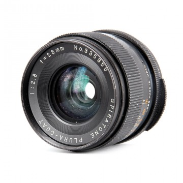 Spiratone Plura-coat 28mm/2.8 (М42)