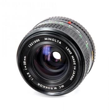 Minolta MC W.Rokkor 28mm/3.5 (MD)