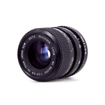 Auto Revuenon zoom MC macro 35-70mm/3.5-4.8 (K)