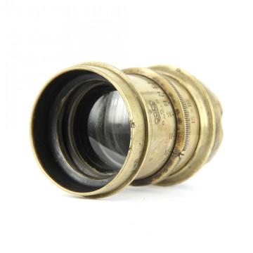 Объектив для форматных камер 13х18 бронзовый