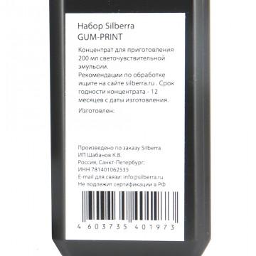 Набор для гумми-печати SILBERRA GUM-PRINT 2х100мл