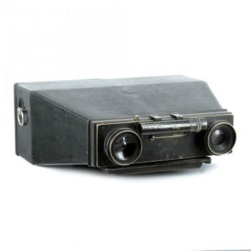 Двухобъективная камера бинокулярного стиля Photo-jumelle