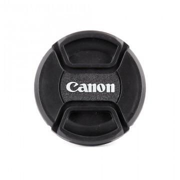 Крышка на объектив с надписью Canon