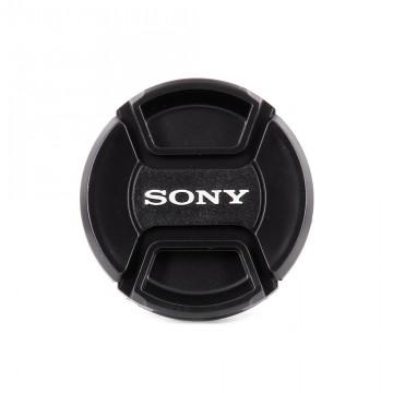 Крышка на объектив с надписью Sony