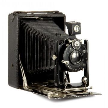 Форматная складная камера Иохим + Rectar Steinheil-München 135mm/6.8
