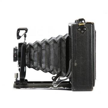 Форматная складная камера Ernemann HEAG 0 6x8 + Novar-Anastigmat 105mm/6,3