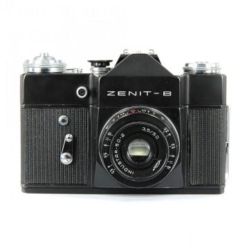 ЗЕНИТ-В + Индустар 50-2 50mm/3,5
