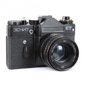 ЗЕНИТ-ЕТ + Гелиос-44-3 58mm/2,0
