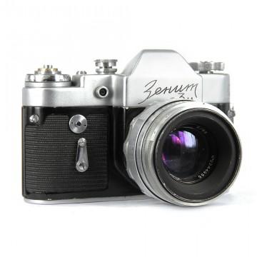 ЗЕНИТ-3М + Гелиос-44 58mm/2,0