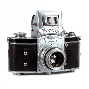 Kine Exacta + Trioplan 50mm/2.9