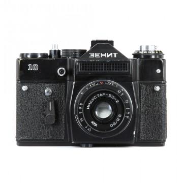 ЗЕНИТ-10 + Индустар-50-2 50mm/3,5