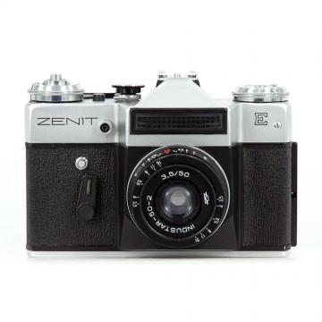 ЗЕНИТ-Е (экспортный вариант) + Индустар 50-2 50mm/3,5