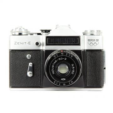 ЗЕНИТ-Е (олимпийский) + Индустар 50-2 50mm/3,5