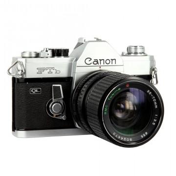 Canon FTb QL + RMC Tokina 35-70mm/3.5