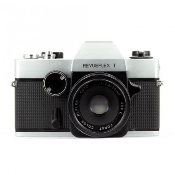 Revueflex T + Porst color reflex auto 55mm/2,8