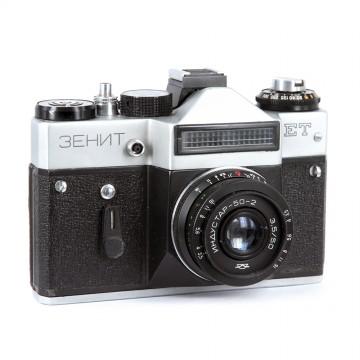 ЗЕНИТ-ЕТ + Индустар 50-2 50mm/3,5