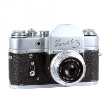 ЗЕНИТ-3 (редкий) + Индустар-50 50mm/3,5