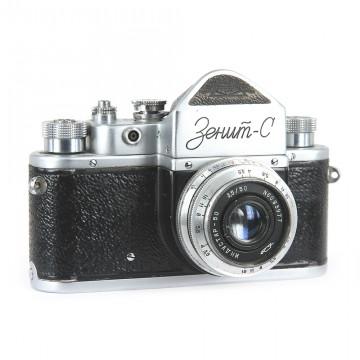 ЗЕНИТ-С + Индустар-50 50mm/3,5