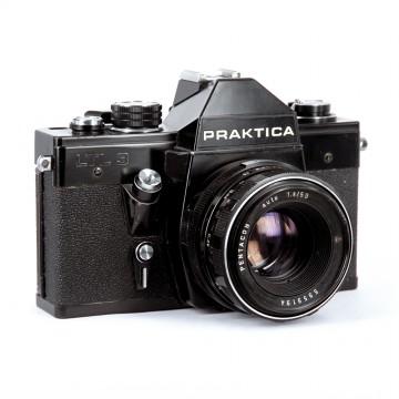 Praktica LTL 3 + Pentacon 50mm/1.8