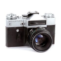 Revueflex E (ЗЕНИТ-Е) + Гелиос-44-2 58mm/2,0