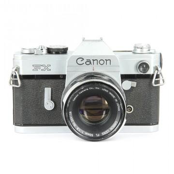 Canon FX + Canon Lens FL 50mm/1.8